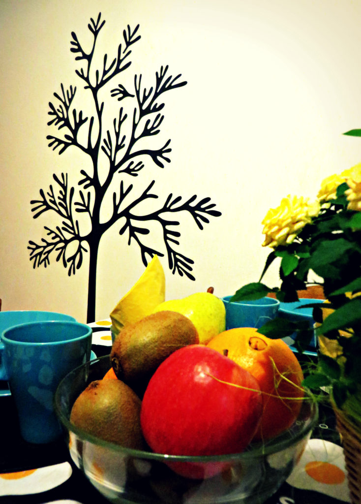 Frutta in cucina