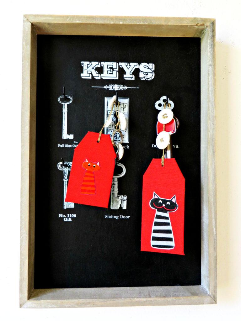 Dei mici custodiscono le chiavi di casa